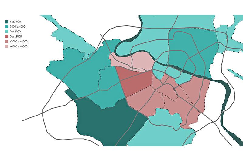 evolución población por barrios